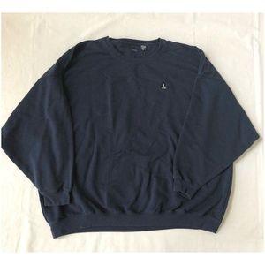 Izod Mens Long Sleeve Pullover Sweatshirt Size 5X